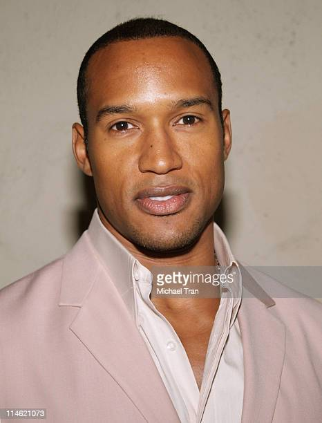 Henry Simmons during Fences Play Opening Arrivals at The Pasadena Playhouse in Pasadena California United States
