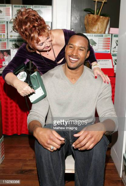 Henry Simmons during GBK Productions 2007 Oscar Gift Suite Day 2 at Hollywood Roosevelt Hotel in Hollywood California