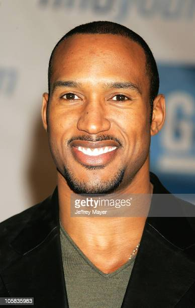 Henry Simmons during General Motors Annual ten Celebrity Fashion Show Arrivals in Los Angeles California United States