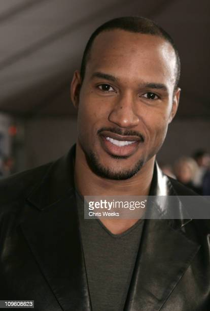 Henry Simmons during General Motors Annual ten Celebrity Fashion Show Red Carpet at 1540 Vine Street in Los Angeles California United States