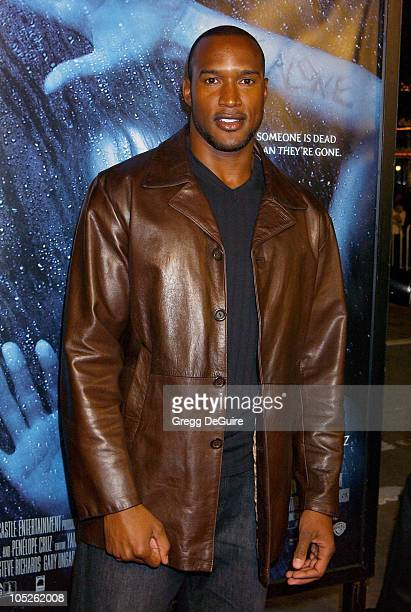 Henry Simmons during Gothika Premiere Los Angeles at Mann Village Theatre in Westwood California United States