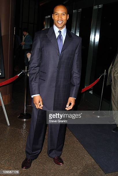 Henry Simmons during Lackawanna Blues Los Angeles Premiere Arrivals at Director's Guild of America in Los Angeles California United States