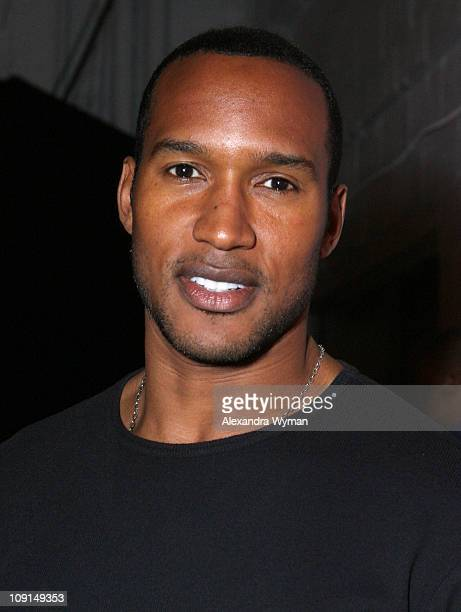 Henry Simmons during Los Angeles Confidential Magazine Celebrates at the Stoli Hotel with Fonzworth Bentley May 17 2007 at Stoli Hotel in Los Angeles...