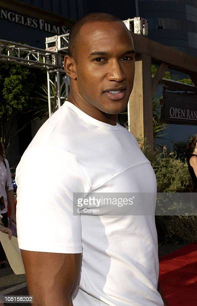 Henry Simmons during Open Range Premiere Red Carpet at Arclight Cinerama Dome in Los Angeles California United States
