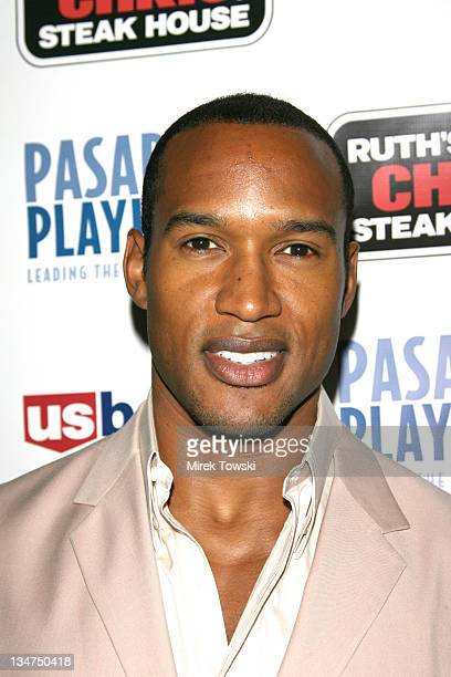 Henry Simmons during Opening Night of August Wilson's Play Fences at Pasadena Playhouse in Pasadena California United States