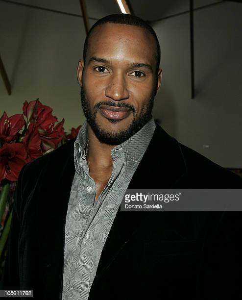 Henry Simmons during Paul Smith Los Angeles Store Opening Celebration at Paul Smith Store in Los Angeles California United States