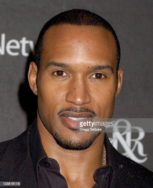 Henry Simmons during Rock Republic's Fall 2006 Exhibition of Fashion Begins the New Era Arrivals at Sony Studios in Culver City California United...