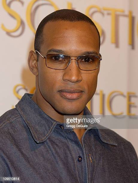 Henry Simmons during Safilo USA Hosts CelebrityStudded Spring 2003 Designer Sunglass Fashion Show Extravaganza and Launch Party for the New Beverly...