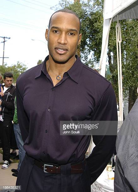 Henry Simmons during The John Varvatos 3rd Annual Stuart House Charity Benefit Inside and Arrivals at John Varvatos Boutique in Hollywood California...