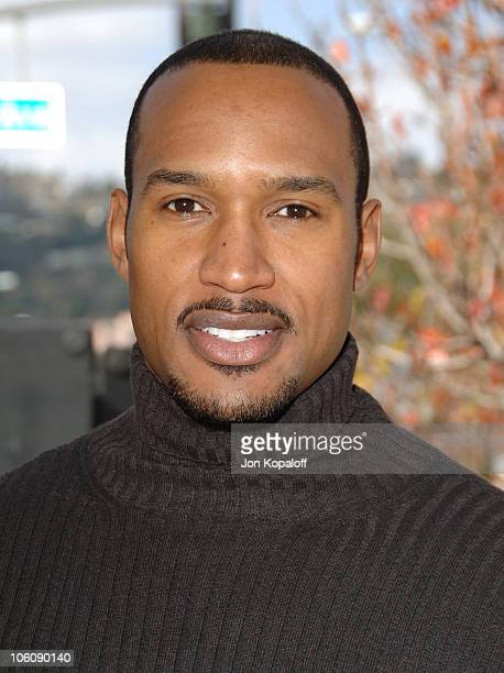 Henry Simmons during The John Varvatos 4th Annual Stuart House Charity Benefit Arrivals at John Varvatos Boutique in West Hollywood California United...