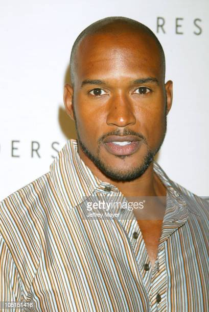 Henry Simmons during The Launch of Avia Retro and Performance Basketball Collection at Concorde Bar in Hollywood California United States