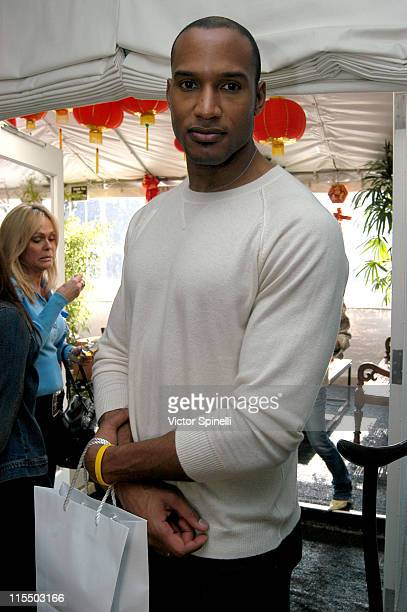 Henry Simmons during TMG Luxury Suite Day 2 at Luxe Hotel in Beverly Hills California United States