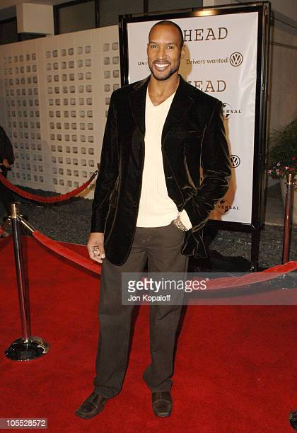 Henry Simmons during Universal Pictures' Jarhead World Premiere Arrivals at ArcLight Cinemas Cinerama Dome in Hollywood California United States