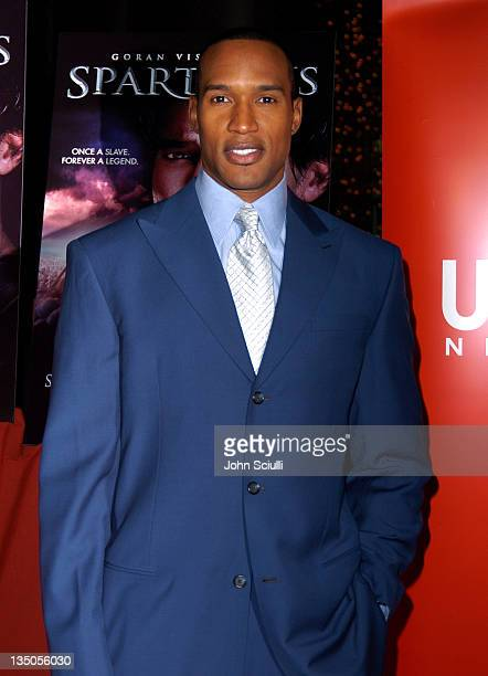 Henry Simmons during USA Network's Spartacus World Premiere Red Carpet Arrivals at Director's Guild of America in Los Angeles California United States