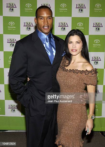Henry Simmons & Lauren Sanchez during 12th Annual Environmental Media Awards at Wilshire Ebell Theatre in Los Angeles, California, United States.