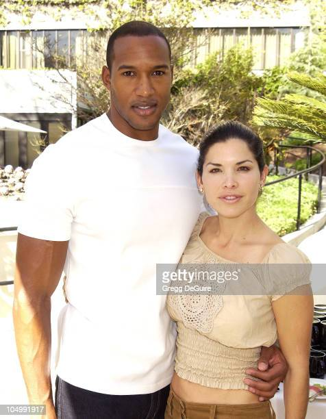 Henry Simmons Lauren Sanchez during 2nd Annual Danny Seo's SuperNatural Super Suite at The W Hotel in Westwood California United States