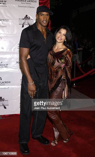 Henry Simmons Lauren Sanchez during Maurice Lacroix Presents The Junior League of Los Angeles Viva Los Angeles Casino Night Arrivals at Jim Henson...