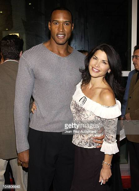 Henry Simmons Lauren Sanchez during Welcome To Collinwood Premiere at Cinerama Dome in Hollywood California United States