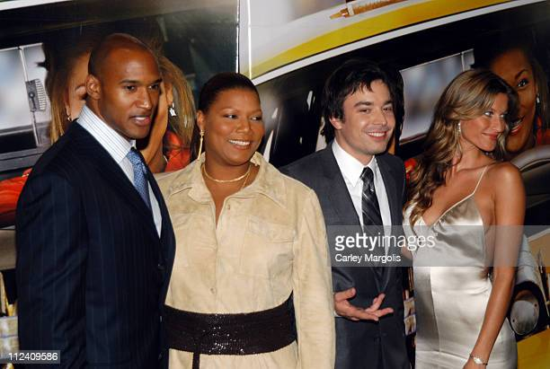 Henry Simmons Queen Latifah Jimmy Fallon and Gisele Bundchen