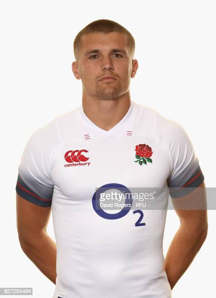 Henry Slade of England poses for a portrait at The Lensbury on August 5 2017 in Teddington England