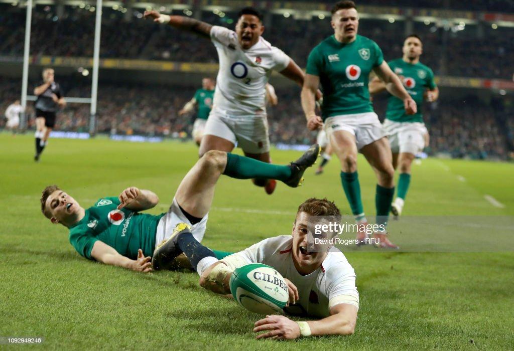 Ireland v England - Guinness Six Nations : News Photo