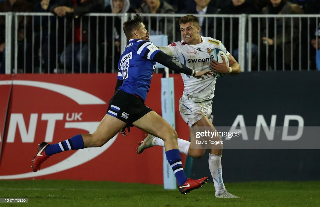 Bath Rugby v Exeter Chiefs - Gallagher Premiership Rugby : News Photo