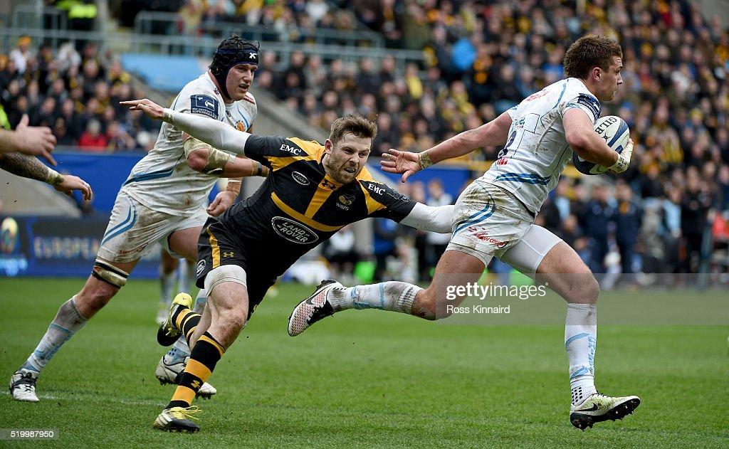 Wasps v Exeter Chiefs - European Rugby Champions Cup Quarter Final : News Photo