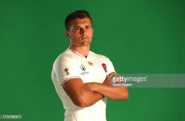 Henry Slade poses during the England photoshoot held on September 15 2019 in Miyazaki Japan