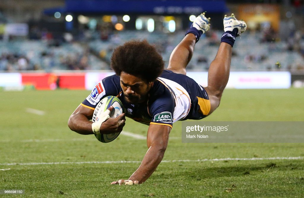 Super Rugby Rd 16 - Brumbies v Sunwolves : News Photo