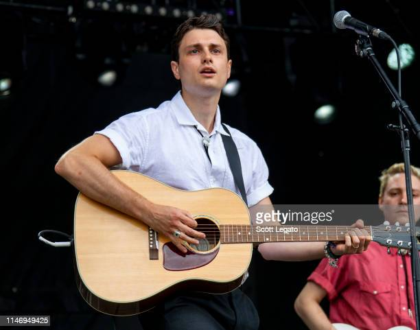 Henry Stansall of Ruen Brothers performs during day 2 of Shaky Knees Music Festival at Atlanta Central Park on May 03, 2019 in Atlanta, Georgia.