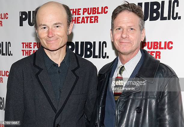 Henry Stram and Marty Moran attend The Public Theater Presents Antony And Cleopatra Opening Night at The Public Theater on March 5 2014 in New York...
