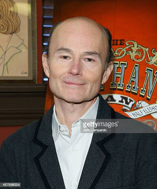 Henry Stram attends the The Elephant Man Press Reception at Sardi's on October 21 2014 in New York City