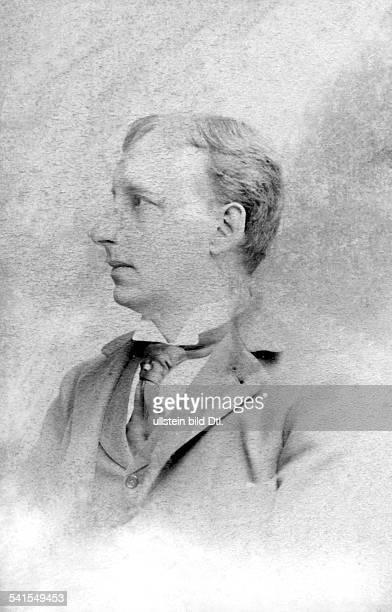 Henry Thode*13011857art historian Germanyportrait Photographer E Schultze 1900Vintage property of ullstein bild