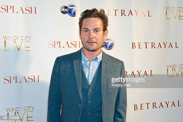Henry Thomas attends the premiere party for ABC's 'Betrayal' at Vertigo Sky Lounge on September 23 2013 in Chicago Illinois