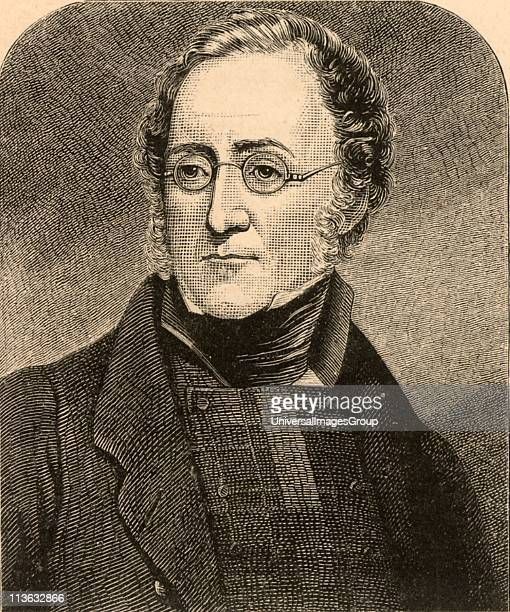 Henry Thomas de la Beche British geologist President of the Royal Geological Society 1847 From Life of Sir Roderick I Murchison by Archibald Geikie...