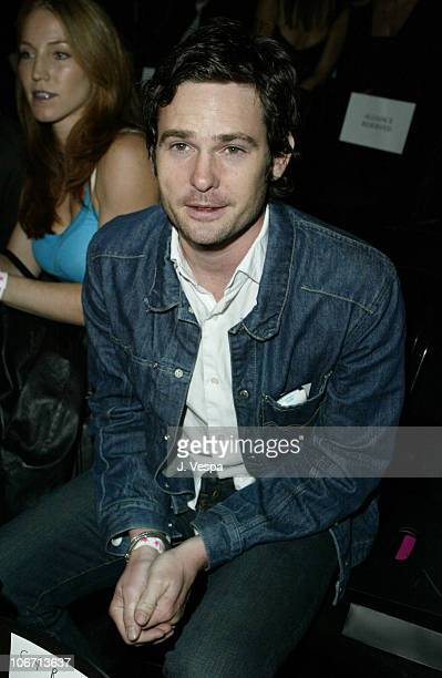 Henry Thomas during MercedesBenz Shows LA Fashion Week Spring 2004 Jenni Kayne Backstage and Front Row at The Standard Downtown LA in Los Angeles...