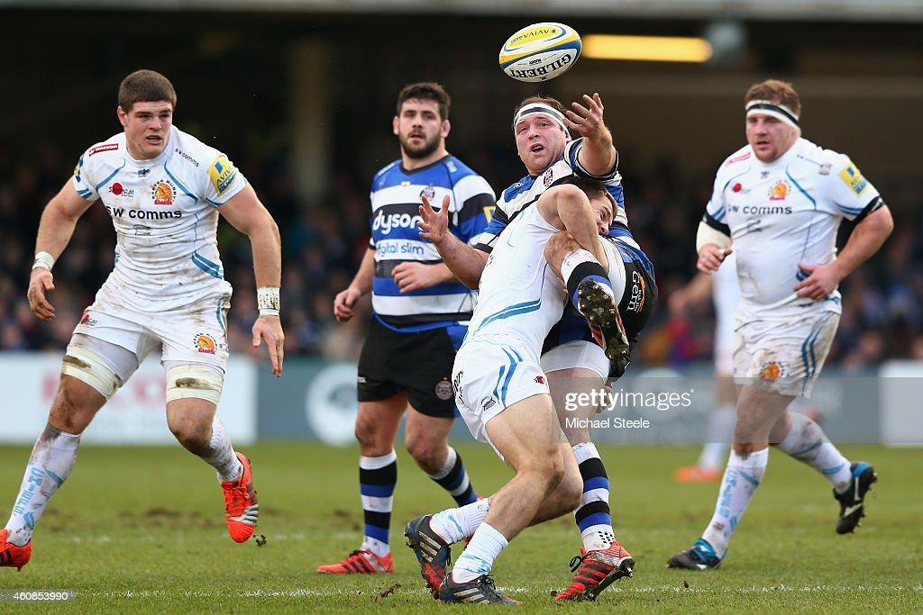 Bath Rugby v Exeter Chiefs - Aviva Premiership