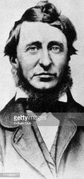 Henry Thoreau c1862 American poet and philosopher 12 July 1817 – 6 May 1862