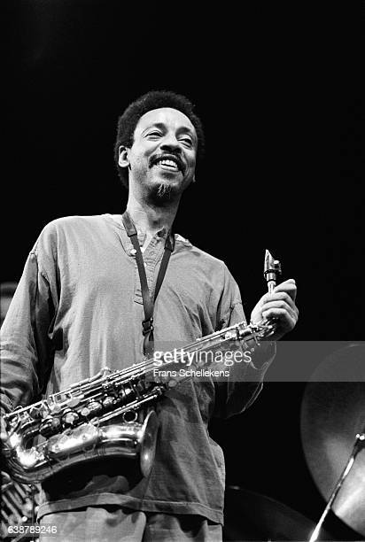 Henry Threadgill alto saxophone performs on February 15th 1992 at the BIM huis in Amsterdam Netherlands
