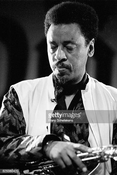Henry Threadgill alto saxophone performs on July 13th 1996 at the North Sea Jazz Festival in the Hague Netherlands