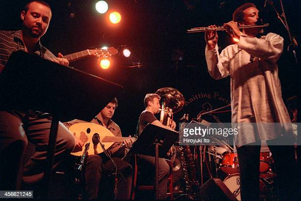 Henry Threadgill and Zooid performing at the Knitting Factory on September 15 2000This imageFrom left Liberty Ellman Tarik Benbrahim Jose Davilla and...