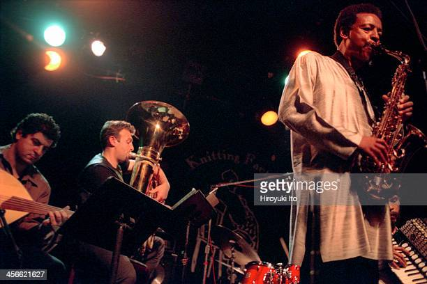 Henry Threadgill and Zooid performing at the Knitting Factory on September 15 2000This imageFrom leftTarik Benbrahim Jose Davilla and Henry Threadgill