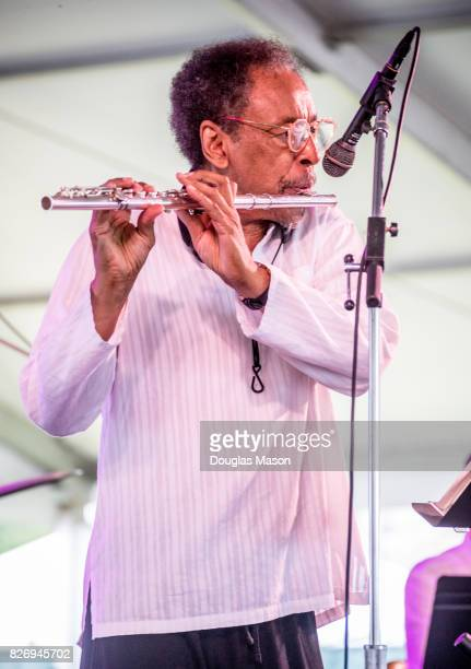 Henry Threadgills Zooid performs during the Newport Jazz Festival 2017 presented by Natixis at Fort Adams State Park on August 5 2017 in Newport...