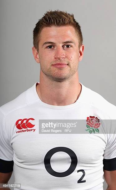Henry Trinder of England poses for a portrait at the Lensbury Club on May 26 2014 in Teddington England