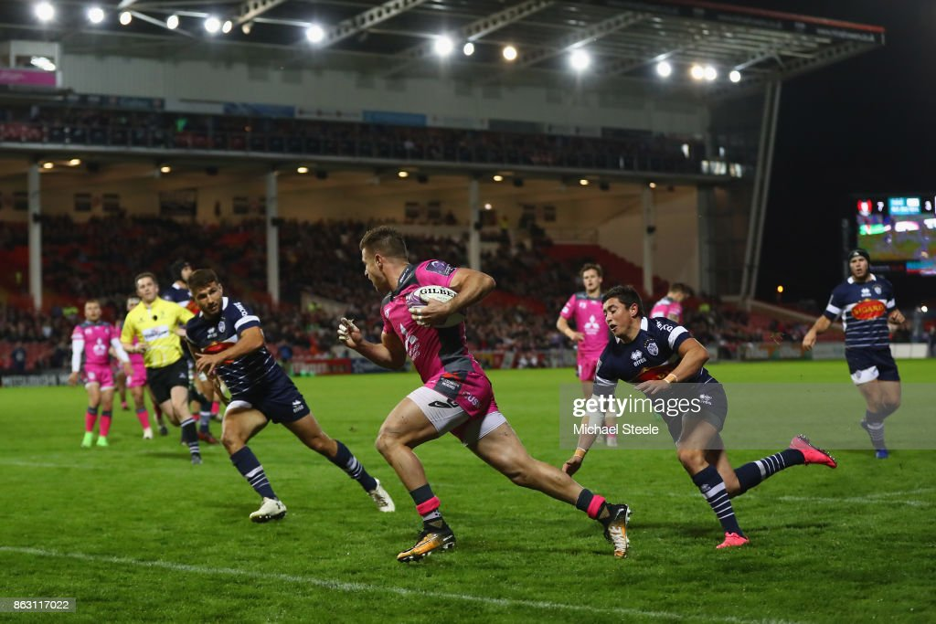 Gloucester Rugby v Agen - European Rugby Challenge Cup