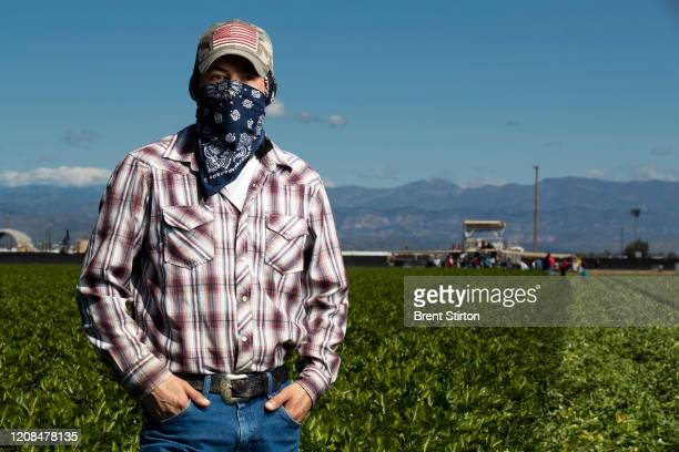 Henry Vasques has been an agricultural laborer for 9 years. He worries about Covid-19 Coronavirus, especially working so close to other workers all...