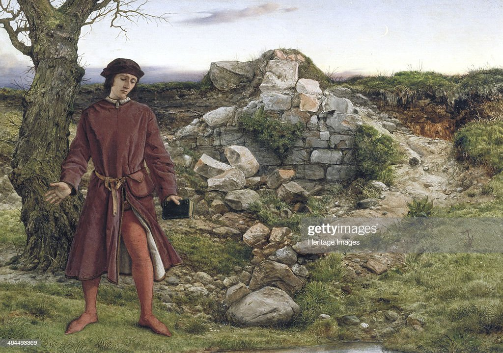 'Henry VI at Towton', 1860. Artist: William Dyce : News Photo