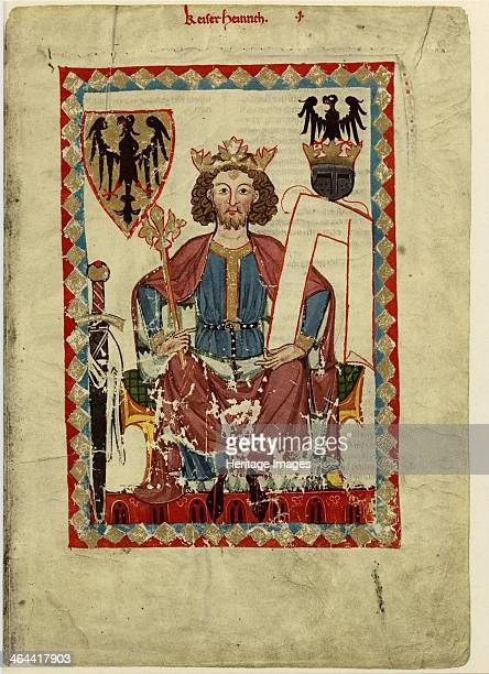 Henry VI Holy Roman Emperor Between 1305 and 1340 Found in the collection of the Library of the Ruprecht Karl University Heidelberg