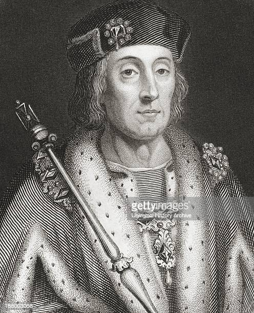Henry Vii 1457 – 1509 King Of England And Lord Of Ireland From The History Of England Published 1859