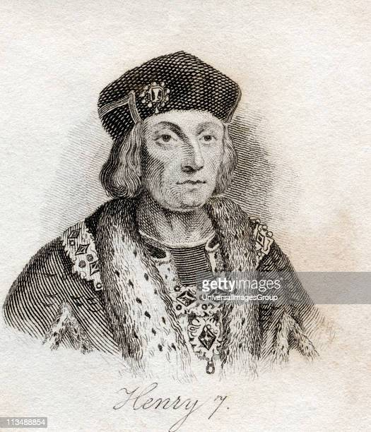 Henry VII 14851509 King of England From the book Crabbs Historical Dictionary published 1825